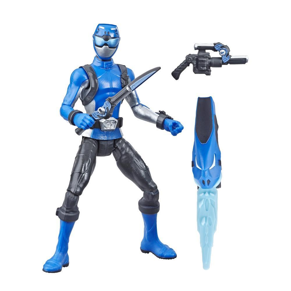 Power Rangers Beast Morphers Basic 6 inch Figur Blauer Ranger