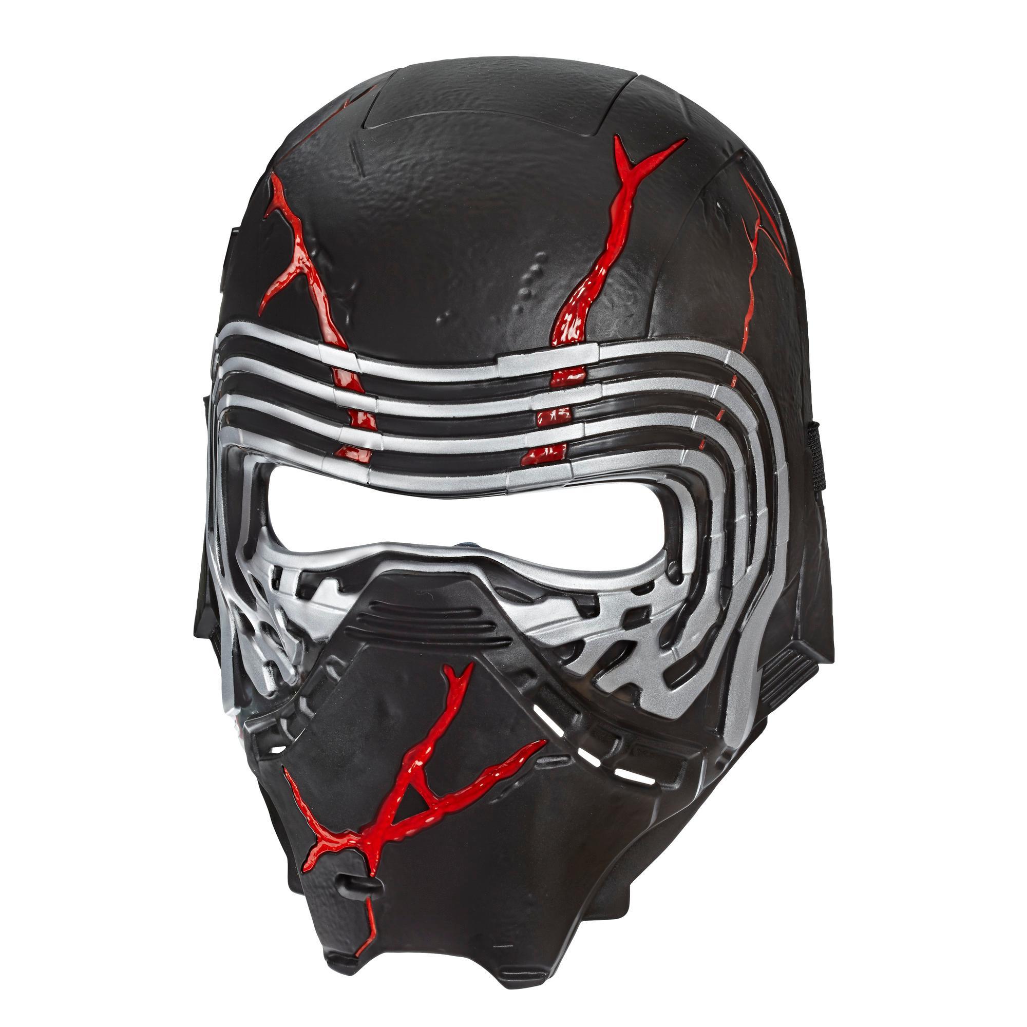 Star Wars: Der Aufstieg Skywalkers Oberster Anführer Kylo Ren Force Rage Elektronische Maske für Kids Rollenspiele, zum Verkleiden