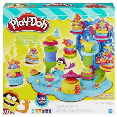 Play-Doh Cupcake-Karussell