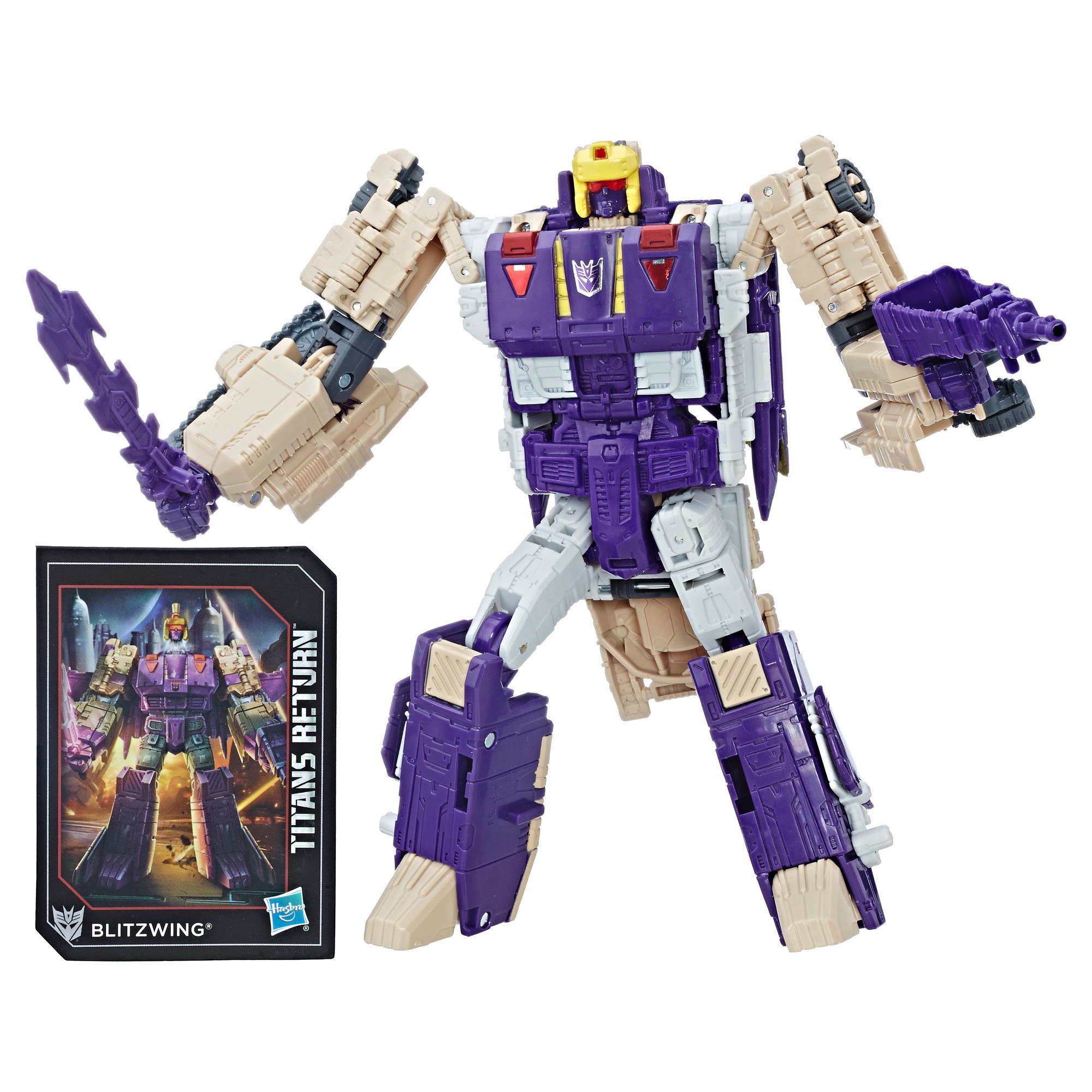 Transformers Generations Titans Return Voyager BLITZWING