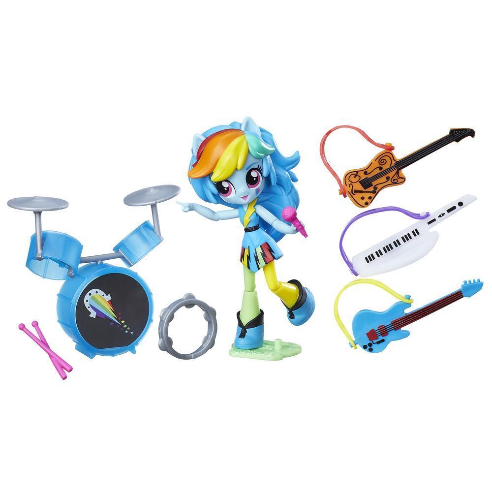 Equestria Girls Minis kleine Spielsets RAINBOW DASH MUSIKUNTERRICHT