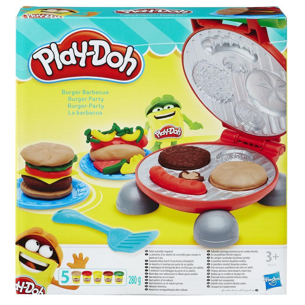 Play-Doh Burger Party