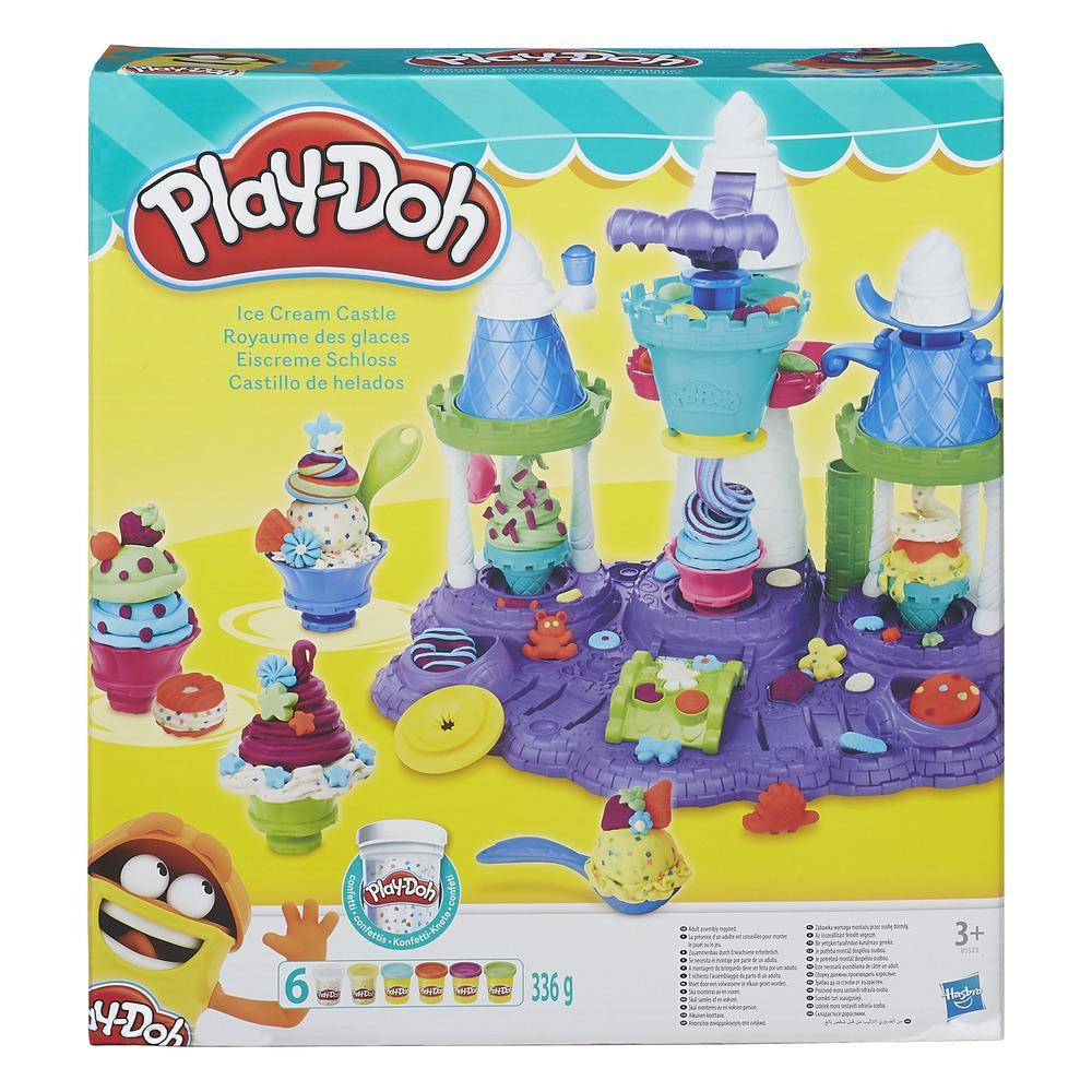 Play-Doh Eiscreme Schloss