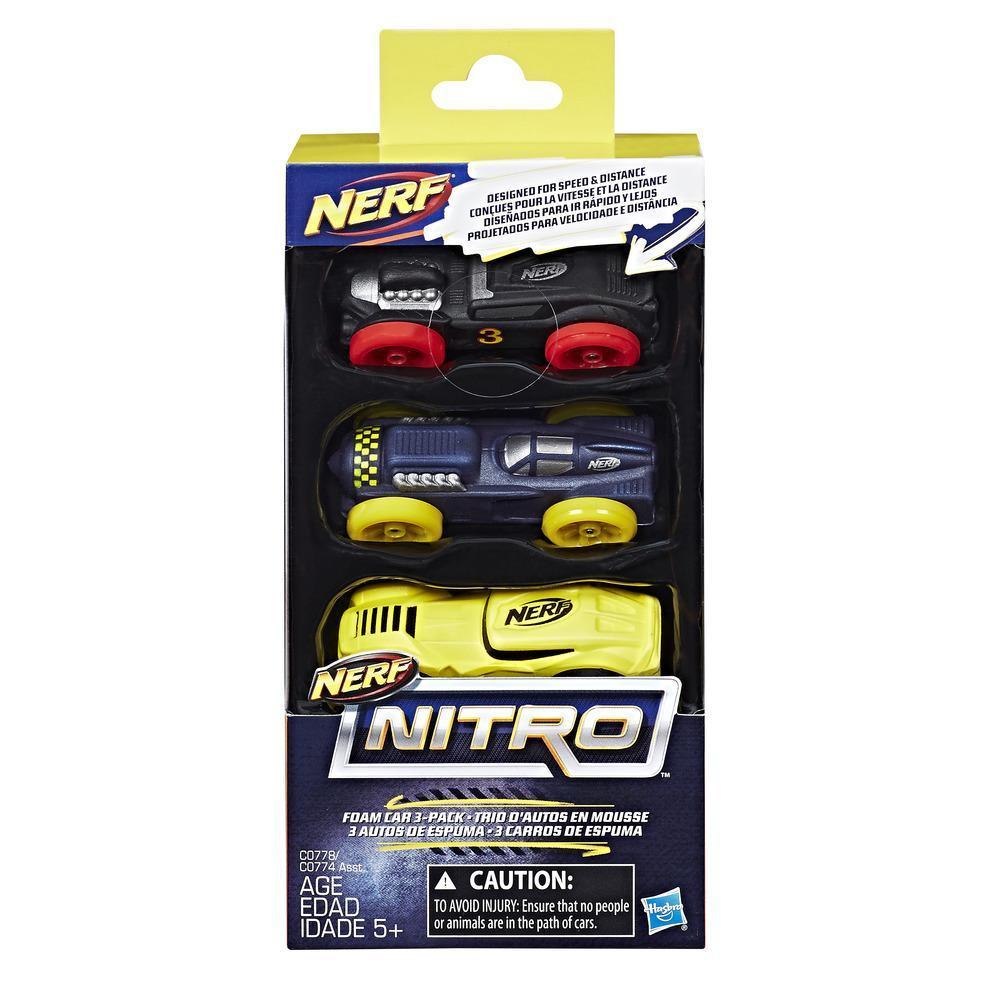 Nerf Nitro Soft Racer 3er Pack 3