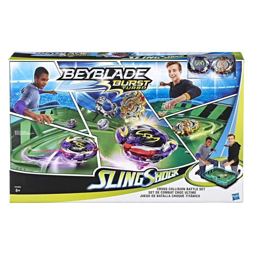 Beyblade Burst Turbo Cross Collision Battle Set