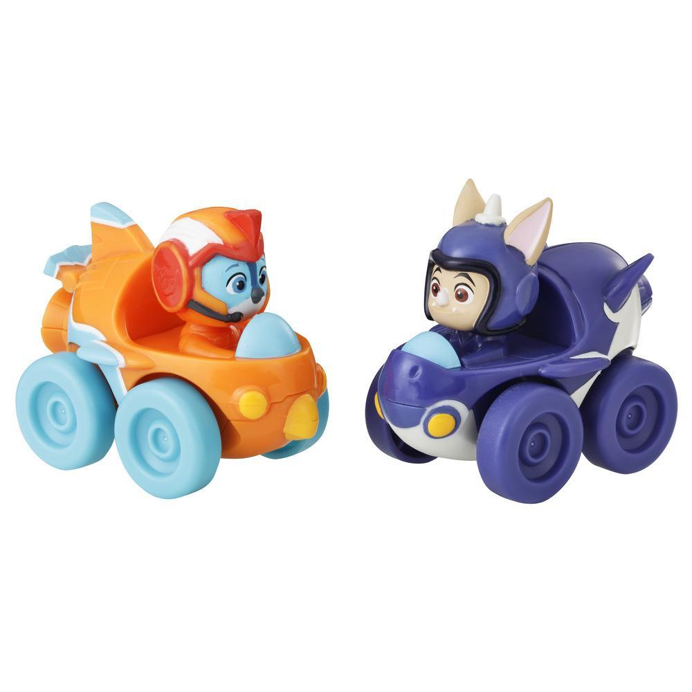 Top Wing Swift and Baddy Racers