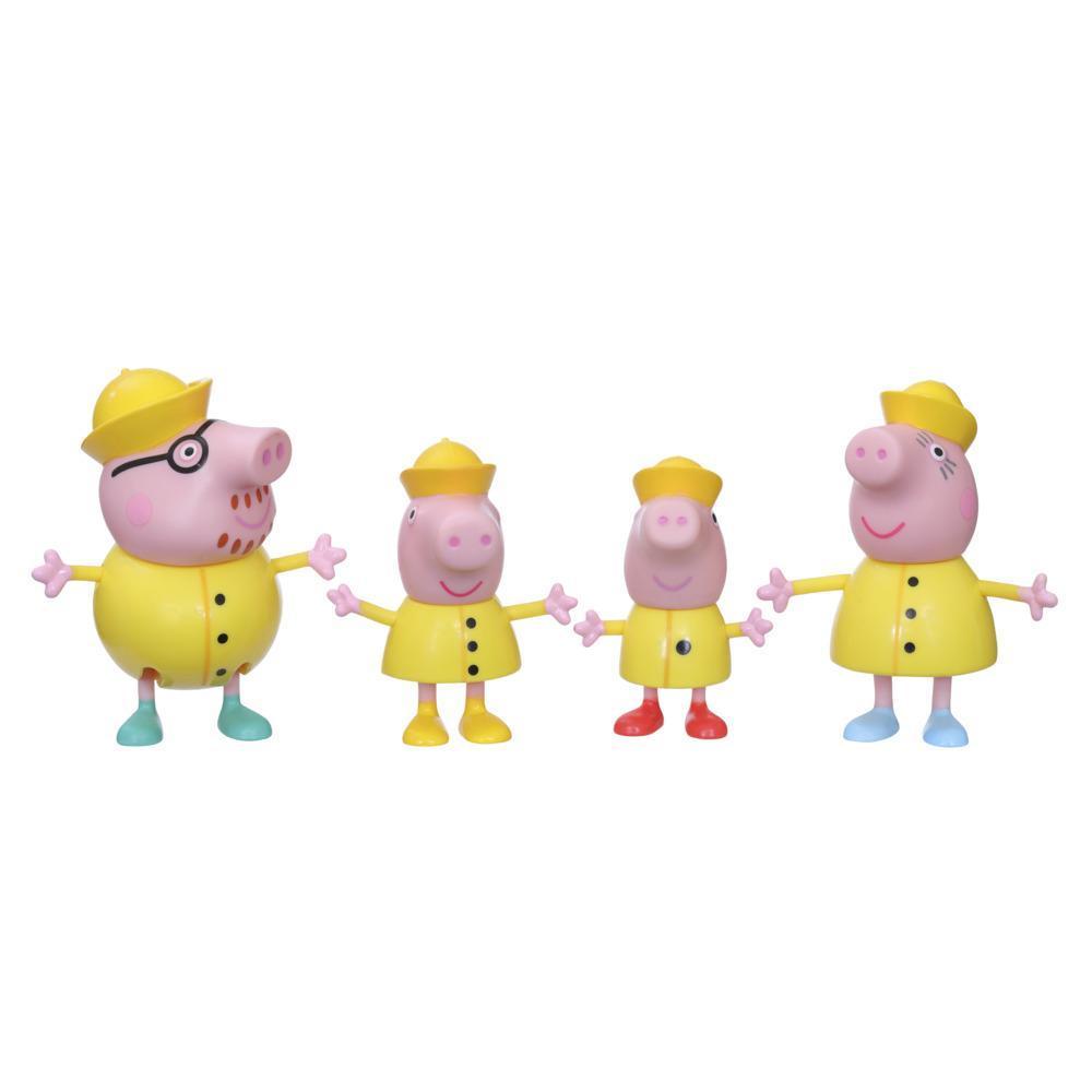 Peppa Pig Regentag mit Familie Wutz