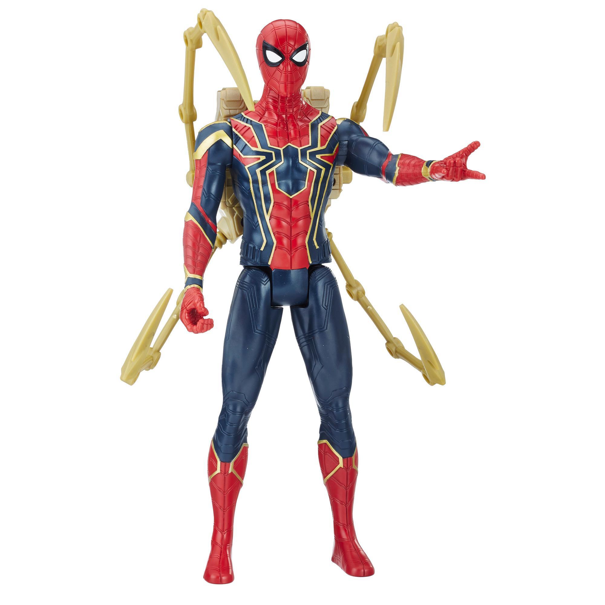 Avengers Titan Hero Power FX Spider-Man mit Power FX Pack