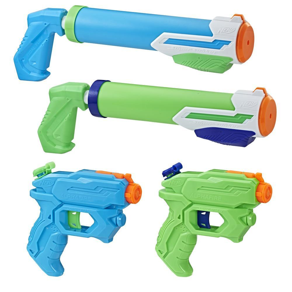 Super Soaker 4er Party Pack