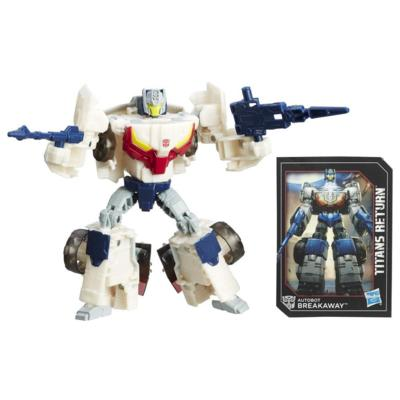 Transformers Generations Titans Return Deluxe Class Autobot Breakaway & Autobot Throttle