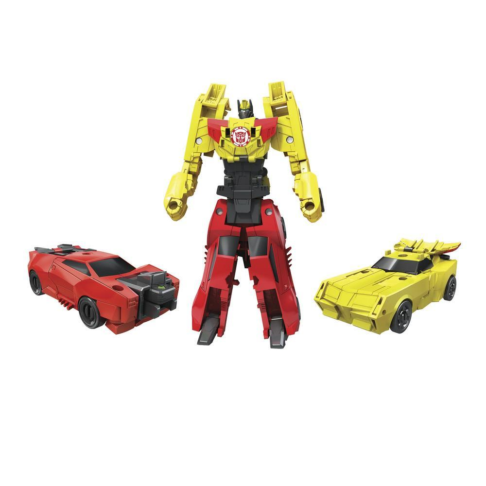 Transformers Robots in Disguise Crash Combiners Bumblebee und Sideswipe