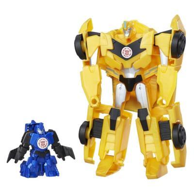 Transformers Robots in Disguise Activator Combiner Bumblebee und Stuntwing
