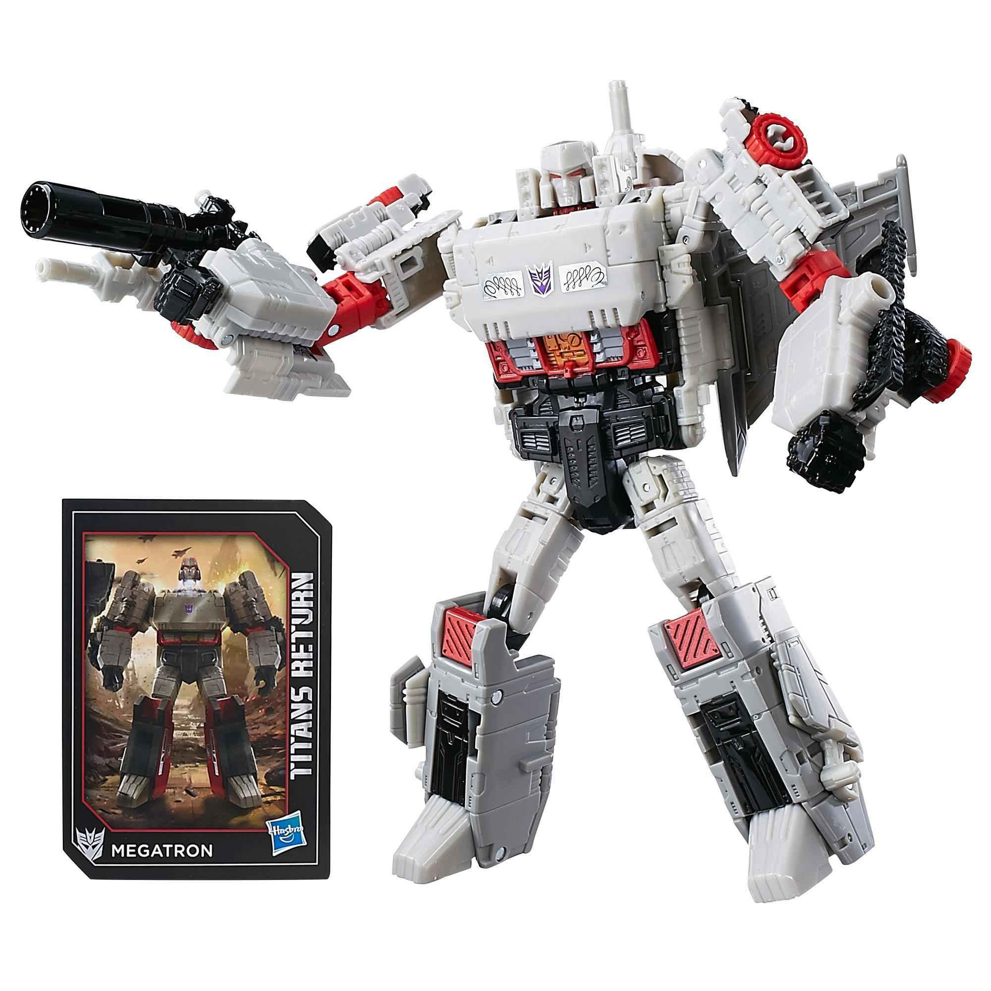 Transformers Generations Titans Return Voyager Class Megatron & Doomshot