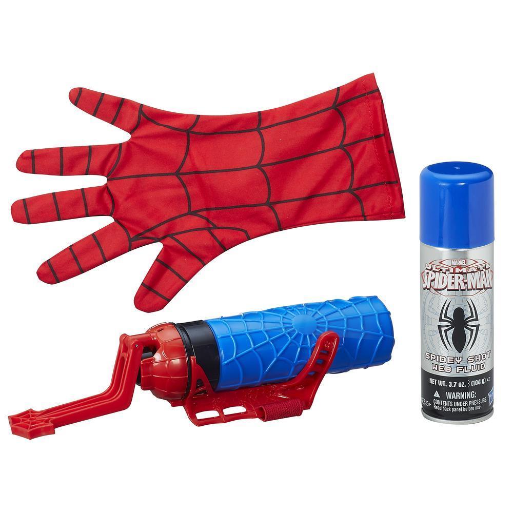 Spider-Man Mega Blast Web Shooter mit Handschuh