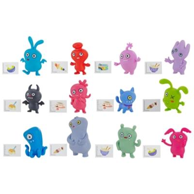 UglyDolls Überraschungs-Uglys Minifiguren Serie 1, vier Accessoires