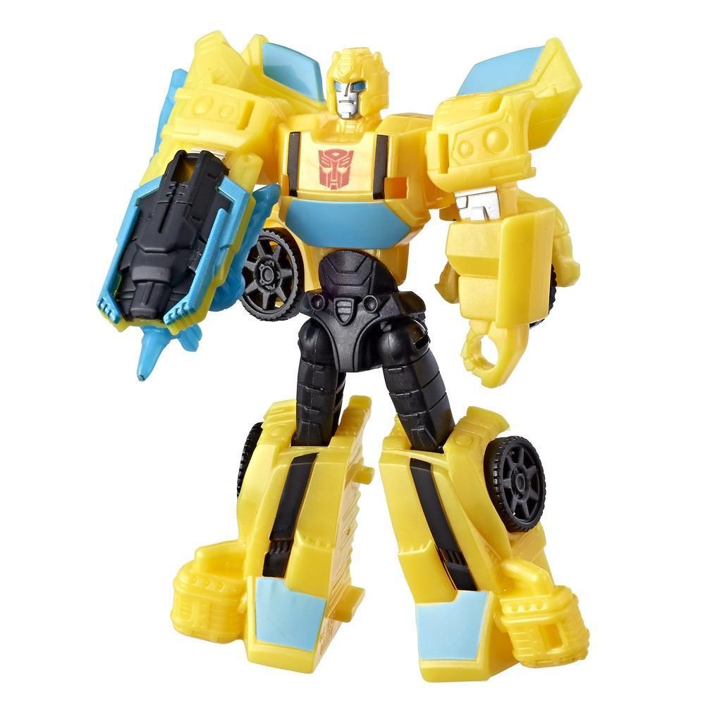Transformers Cyberverse Scout Figur Bumblebee
