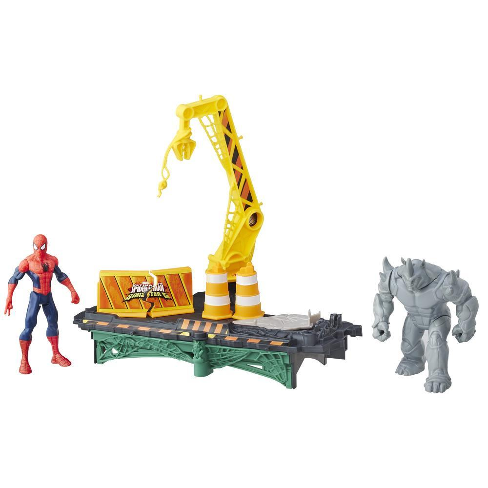 Spider-Man Sinister 6 Web City Battle Set