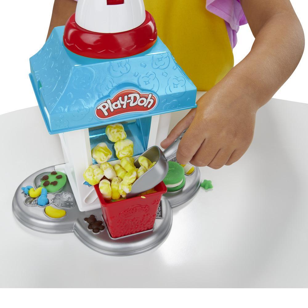 Play-Doh Popcornmaschine mit 6 Dosen Play-Doh