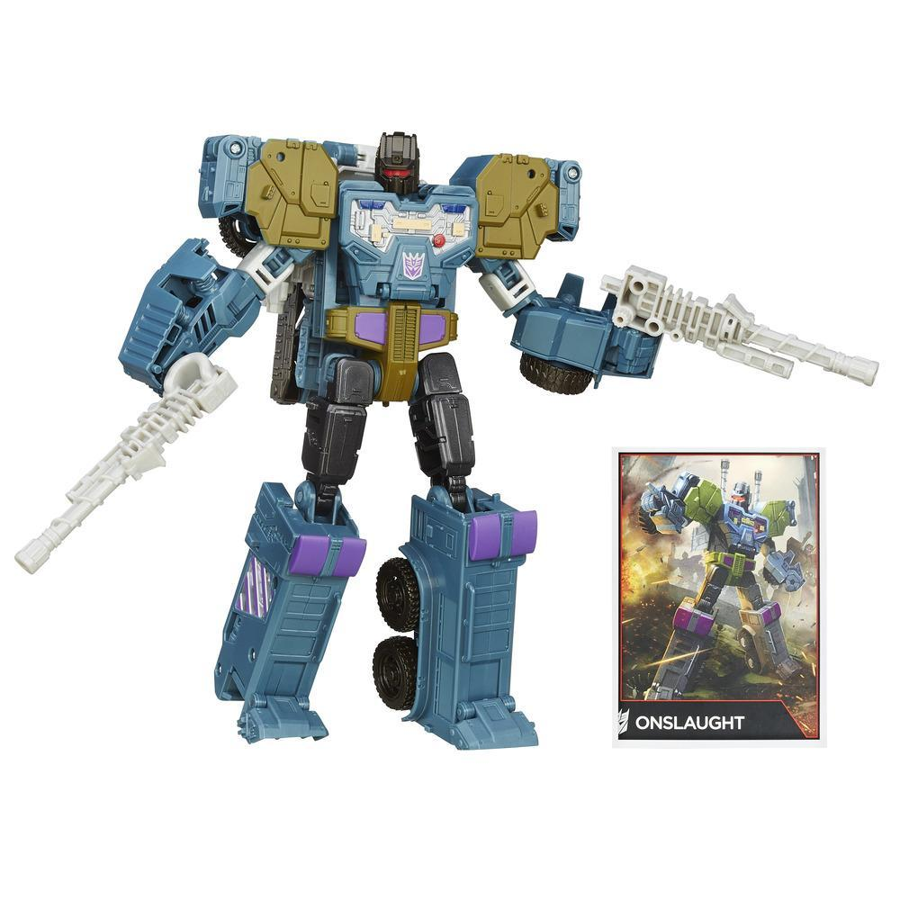 Transformers Generations Voyager Klasse - Onslaught