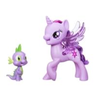 My little Pony Movie Prinzessin Twilight Sparkle & Spike, der Drache Singendes Duo
