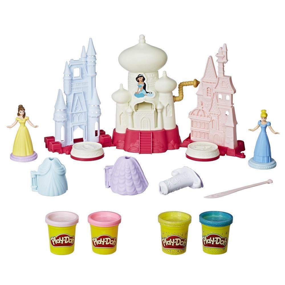 Play-Doh Disney Prinzessin Glitzer-Königreich