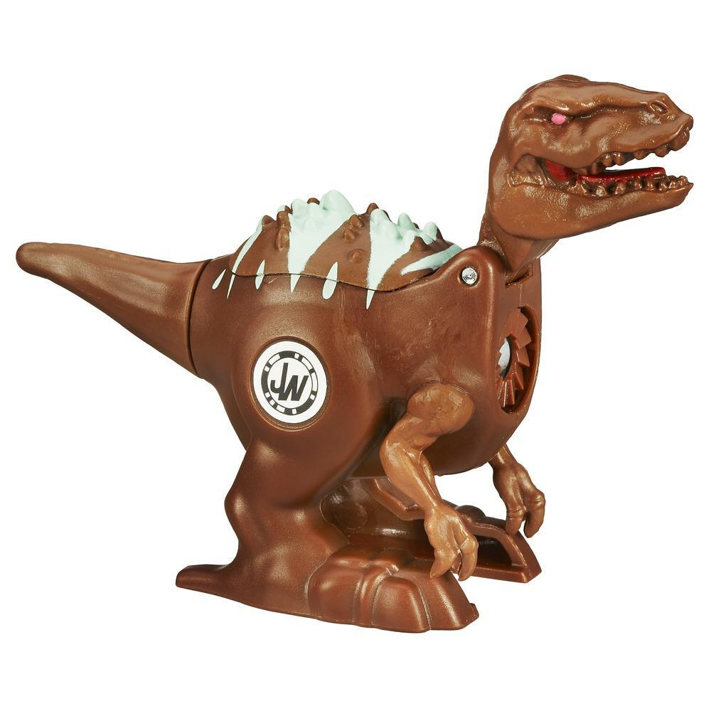 Jurassic World Battle Dinos Einzelpack Velociraptor Blue