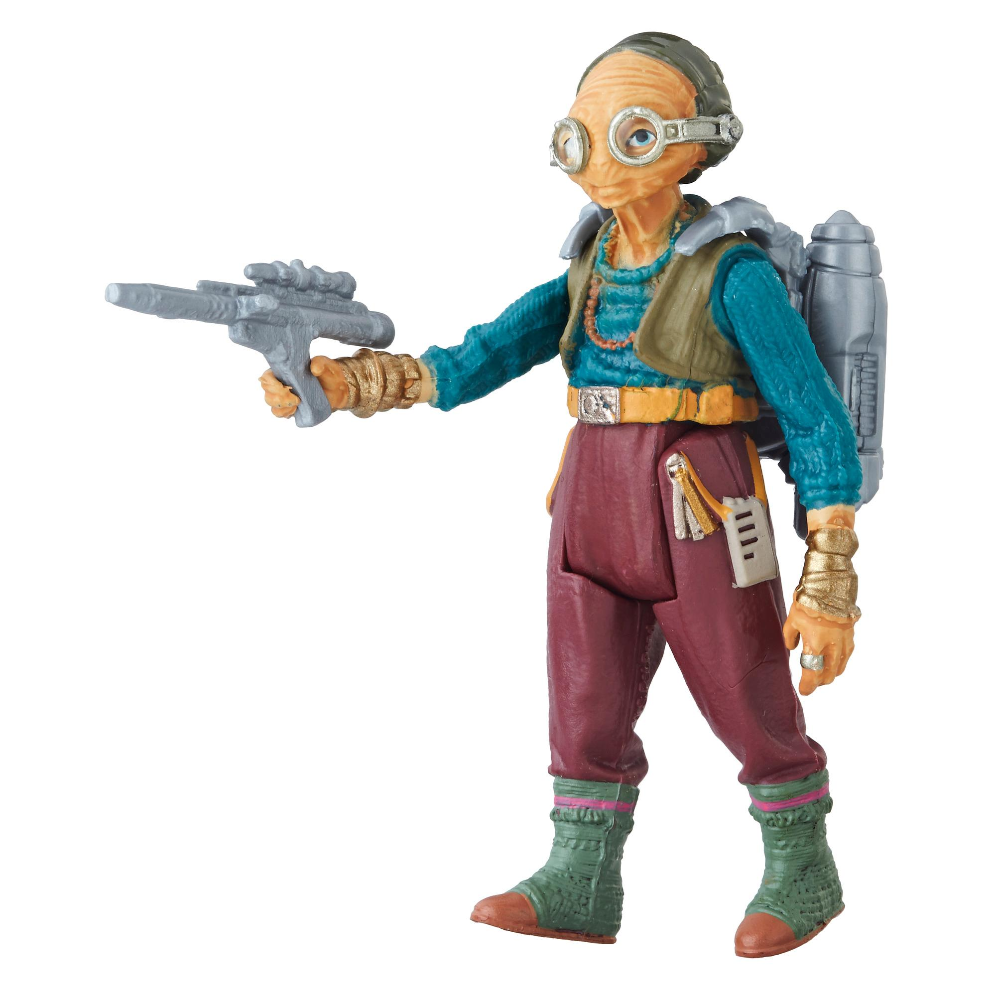 Star Wars Solo Film 3.75 FORCE LINK 2.0 Figur Maz Kanata