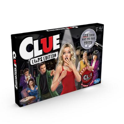 Cluedo Mogeln und Mauscheln Spiel für Kinder ab 8 Jahren