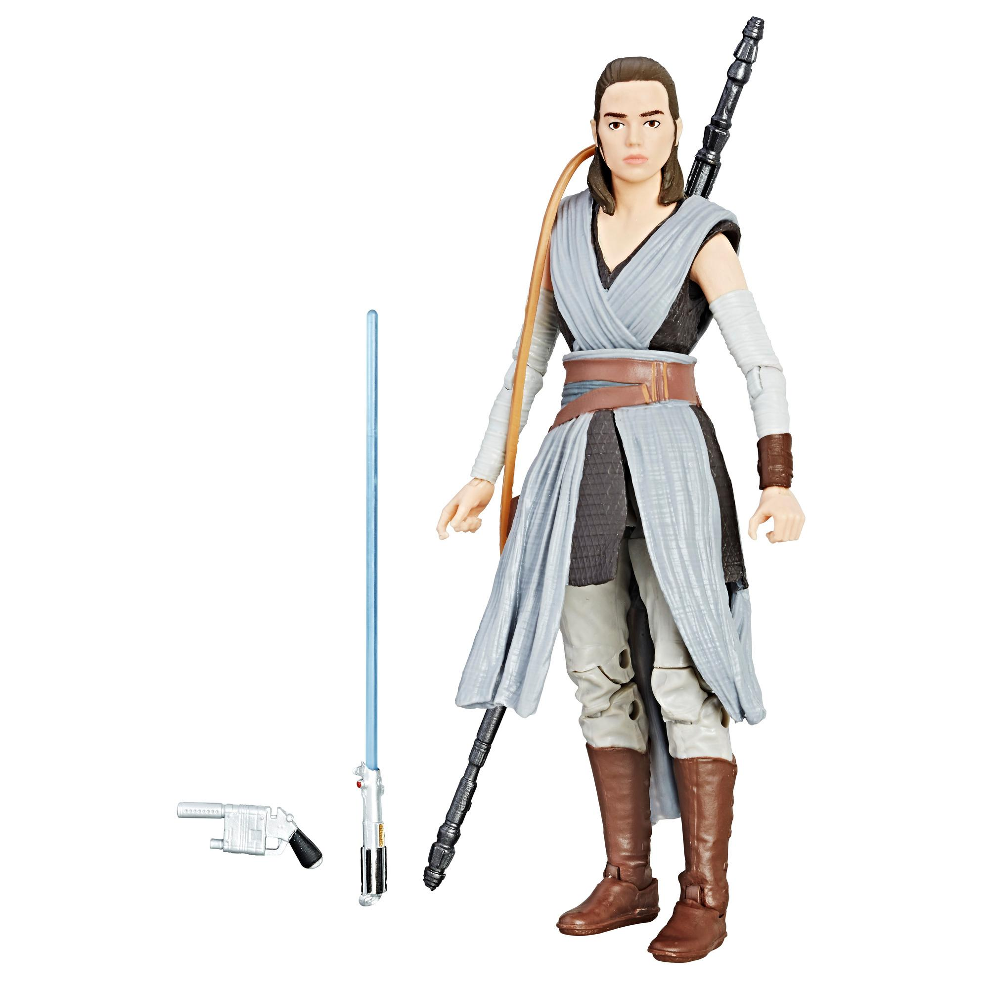 Star Wars The Black Series 6 Figuren Rey Jedi Training