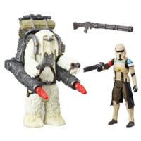 Star Wars Rogue One Battle-Action Basisfiguren 2er Pack - SCARIF STORMTROOPER AND MOROFF