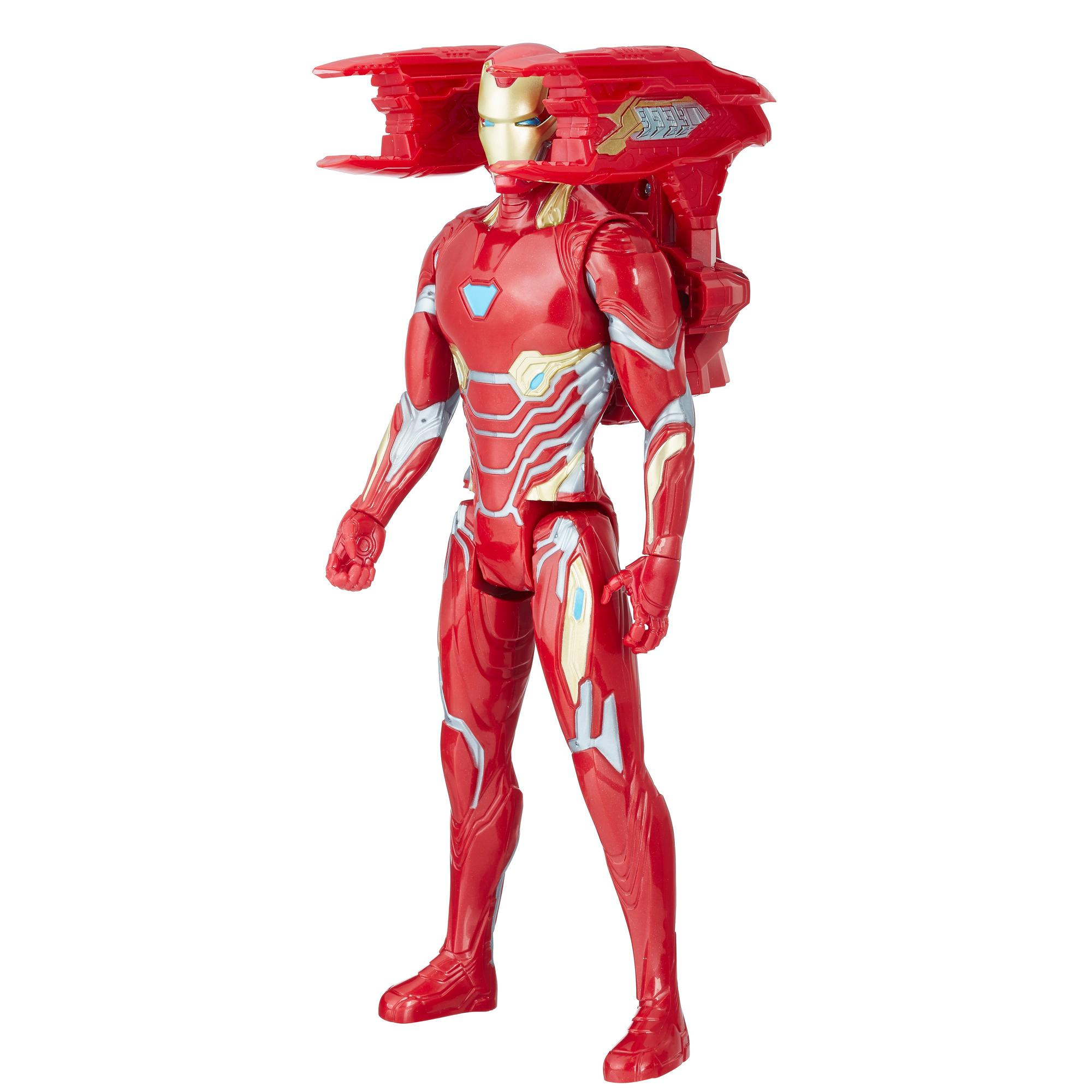 Avengers Titan Hero Power FX Iron Man mit Power FX Pack
