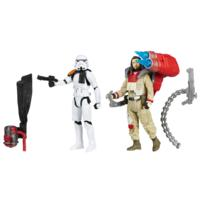 Star Wars Rogue One Battle-Action Basisfiguren Malbus & Trooper