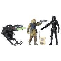 Star Wars Rogue One Battle-Action Basisfiguren 2er Pack - DEATH TROOPER REBEL COMMAND PAO