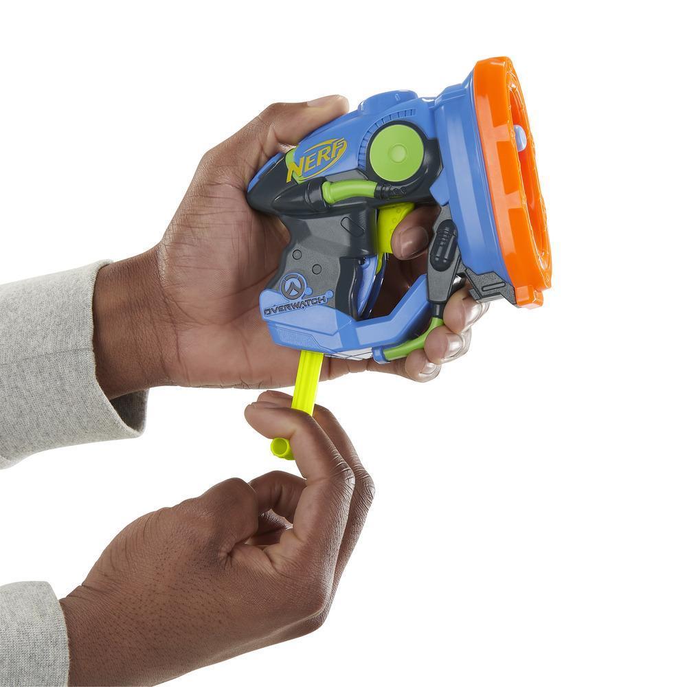 Nerf MicroShots Overwatch Lucio Blaster
