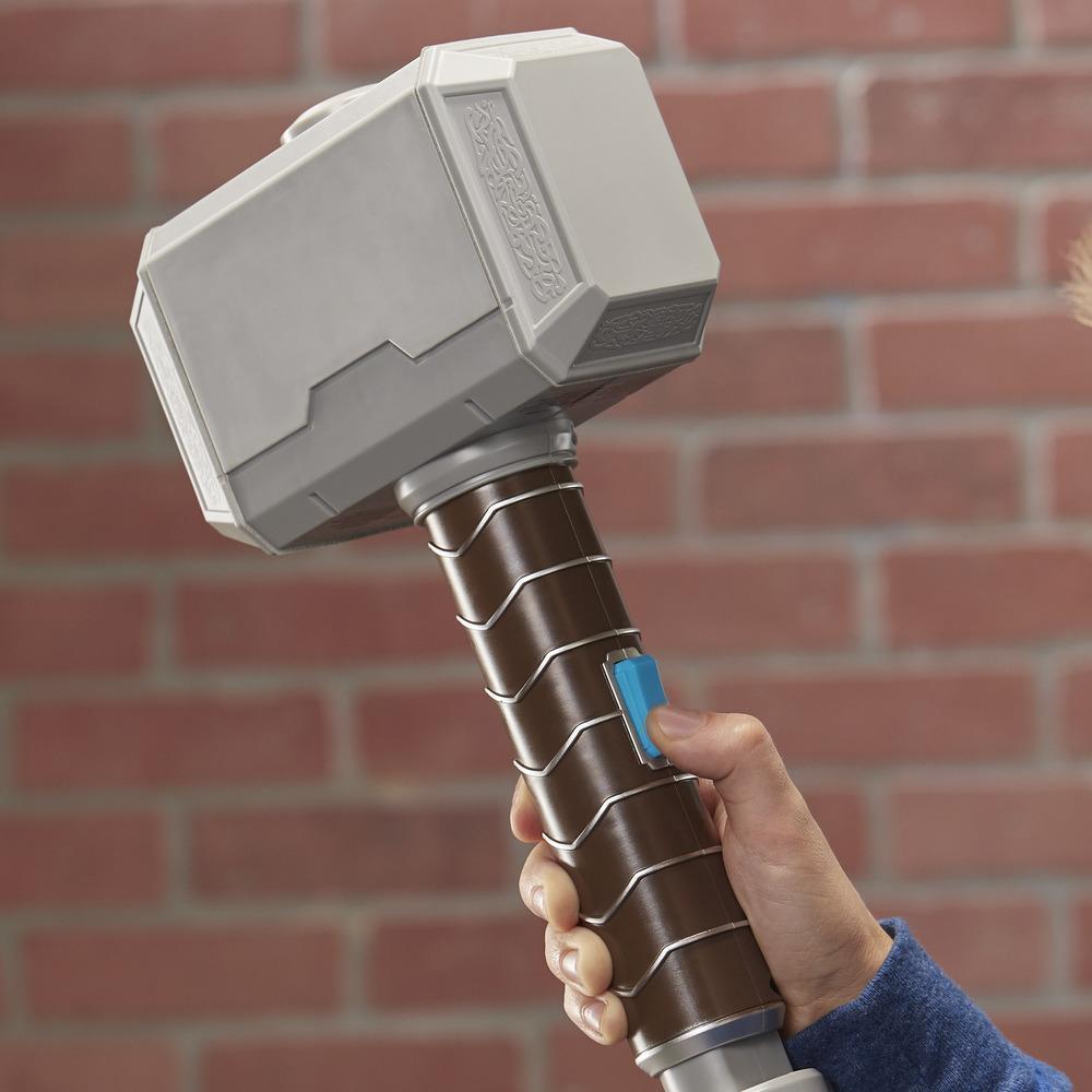 NERF Power Moves Marvel Avengers Thor Power Hammer