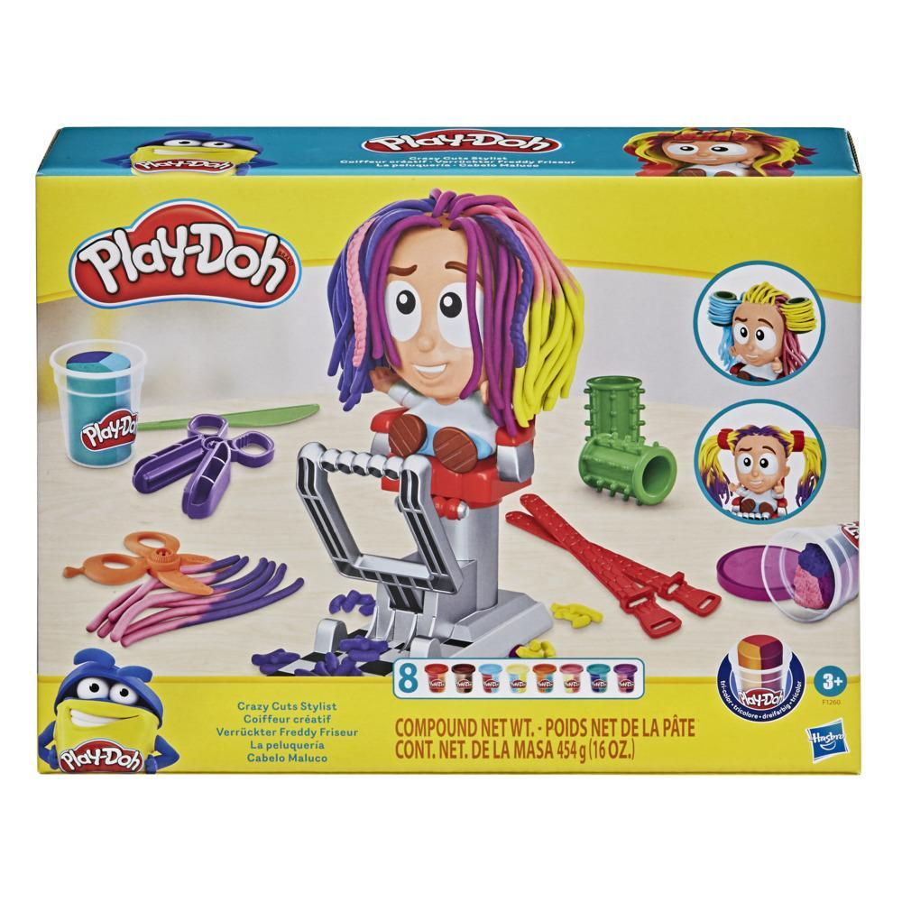 Play-Doh Verrückter Freddy Friseur