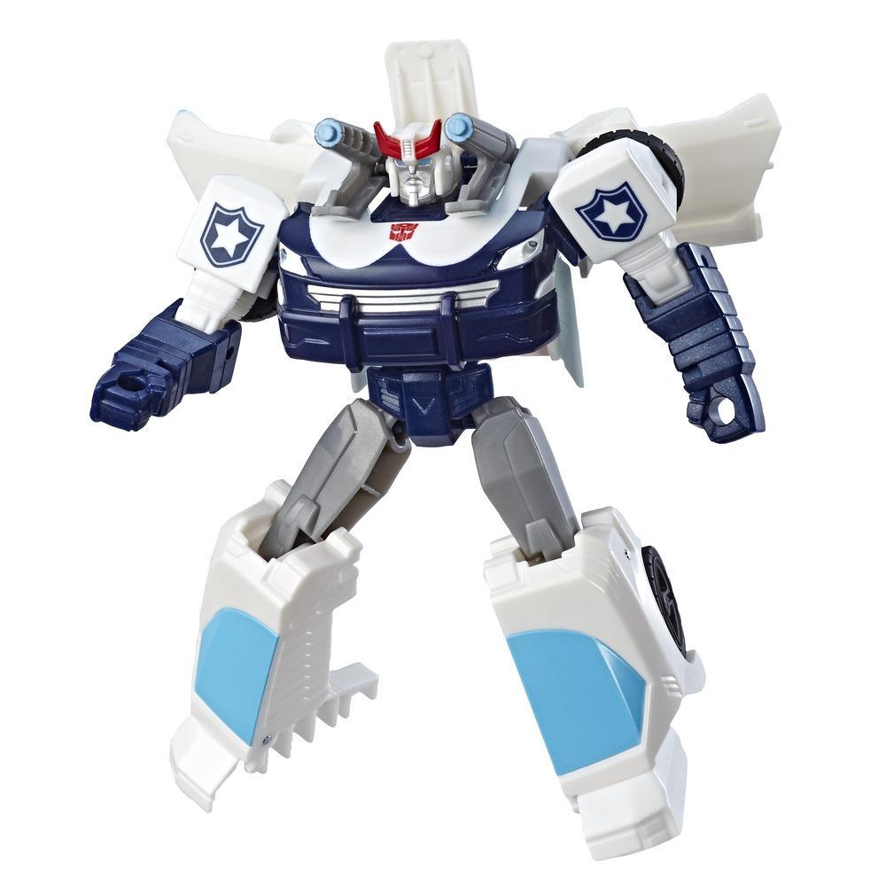 Transformers Cyberverse Action Attackers: Warrior Class Prowl Action Figure Toy