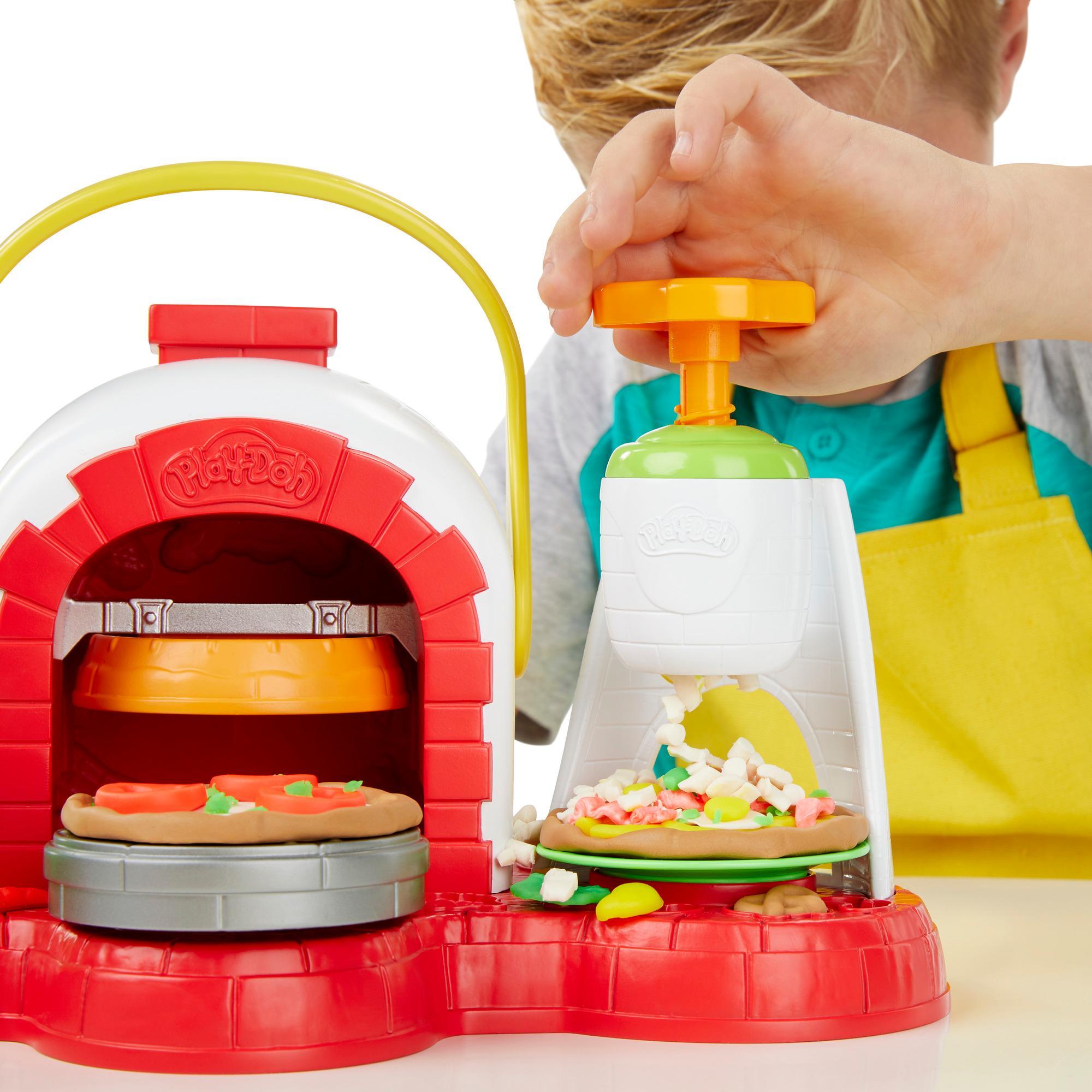 Play-Doh Pizzaofen mit 5 Dosen Play-Doh in verschiedenen Farben