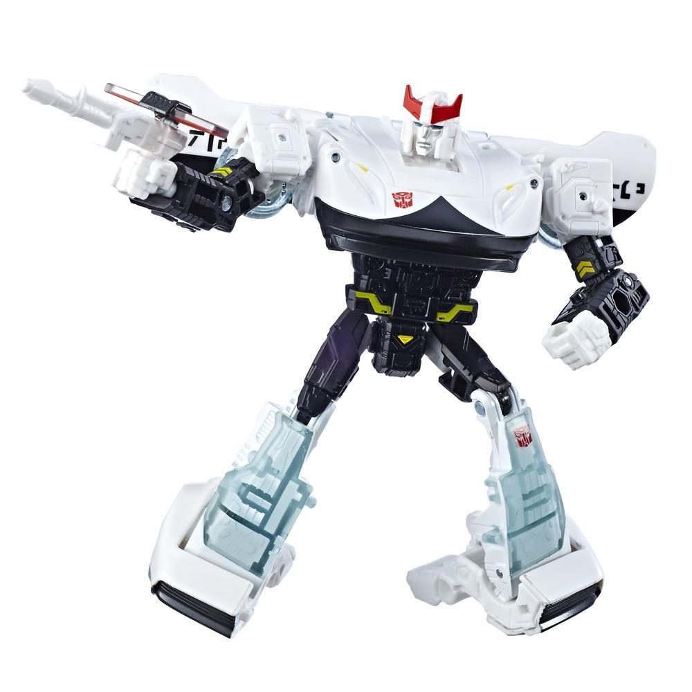 Transformers Toys Generations War for Cybertron Deluxe WFC-S23 Prowl Action Figure - Siege Chapter - Adults and Kids Ages 8 and Up, 5.5-inch