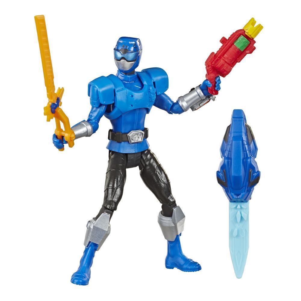 Power Rangers Beast Morphers Beast-X Blauer Ranger