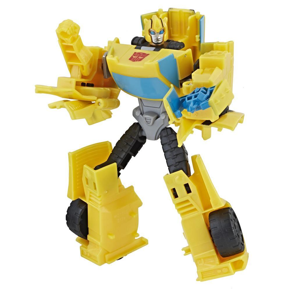 Transformers Cyberverse Action Attackers Commander Figur Bumblebee