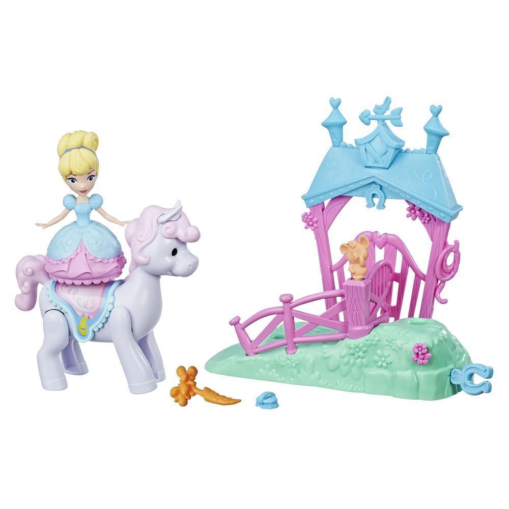 Disney Prinzessin Little Kingdom Ballerina Prinzessinnen Spielsets Cinderellas Pony-Ausflug