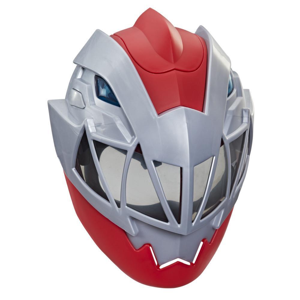Power Rangers Dino Fury Roter Ranger elektronische Maske