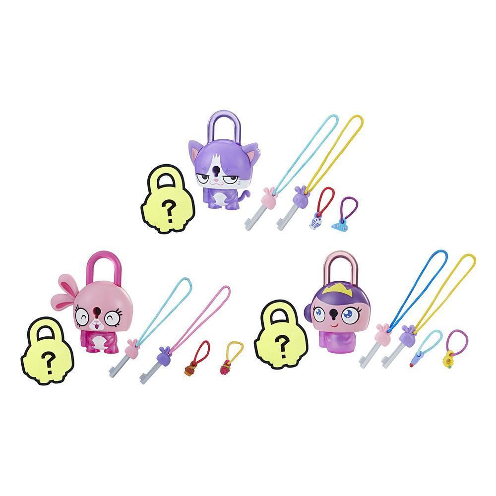 Lockstars - Verrückt verschlüsselt 3er Pack Pinky Pink