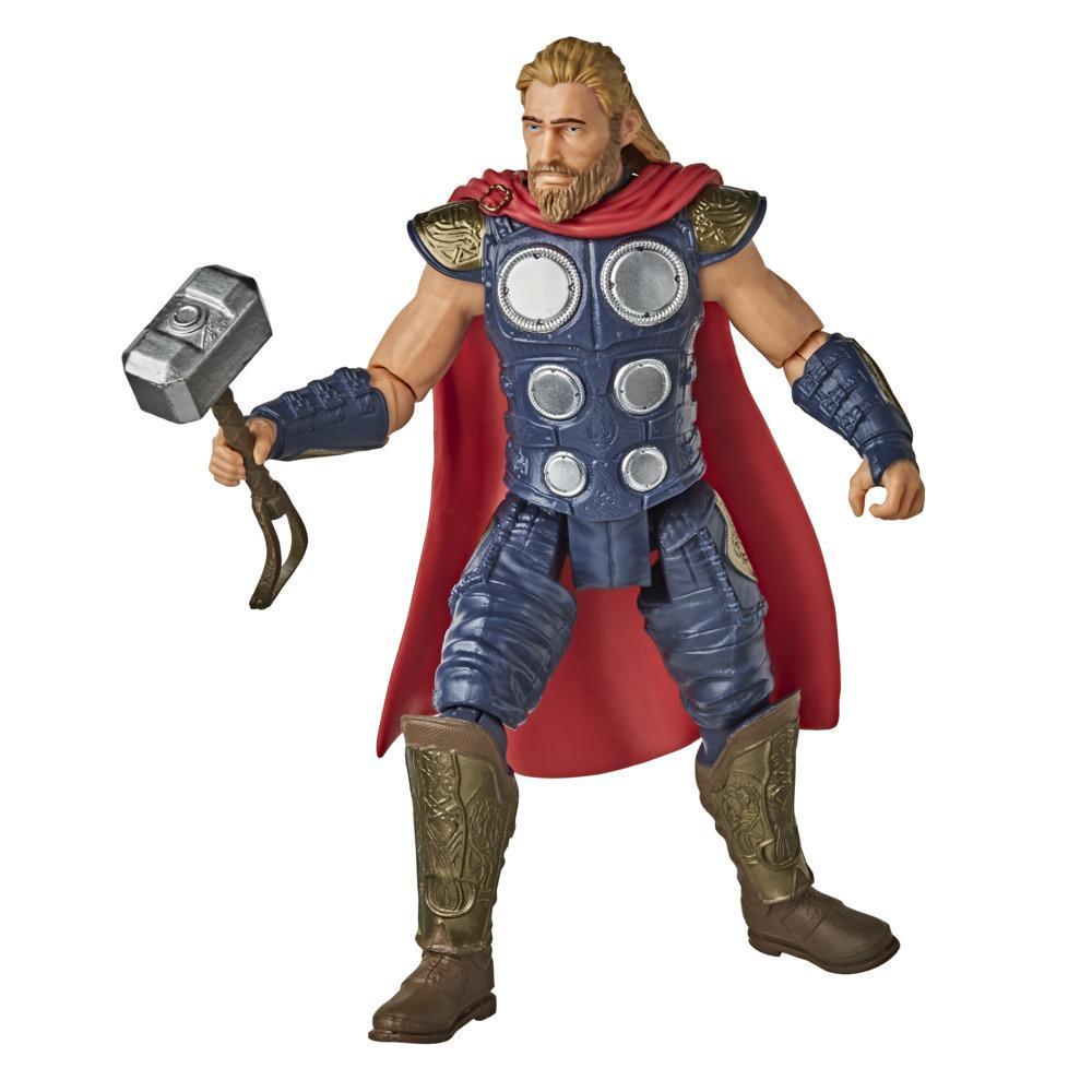 Hasbro Marvel Gamerverse 15 cm große Thor Action-Figur, Iconic Armor Skin