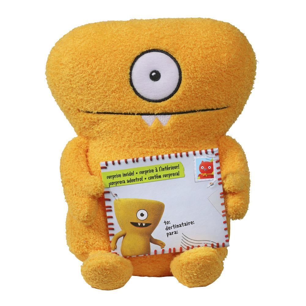 Sincerely UglyDolls Hugs and Headstands Wedgehead Stuffed Plush Toy, Inspired by the UglyDolls Movie, 7.5 inches tall