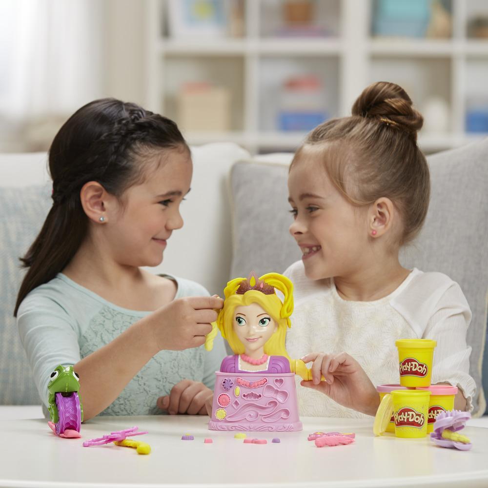 Play-Doh Rapunzel Haarsalon