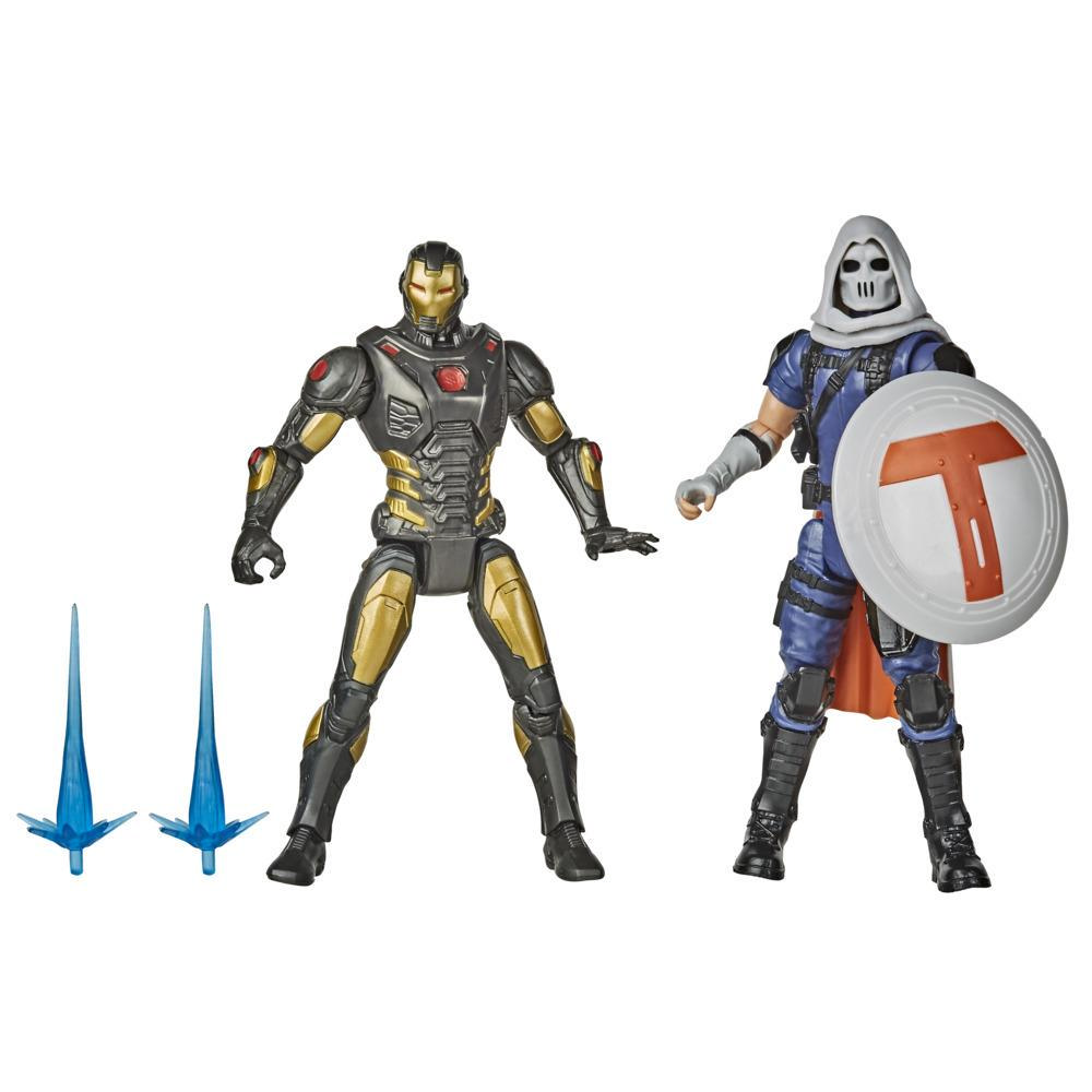 Hasbro Marvel Gamerverse 15 cm große Iron Man vs. Taskmaster Action-Figuren