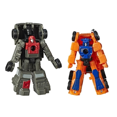 Transformers Toys Generations War for Cybertron: Siege Micromaster WFC-S33 Autobot Off-Road Patrol 2-pack - Adults and Kids Ages 8 and Up, 1.5-inch Product