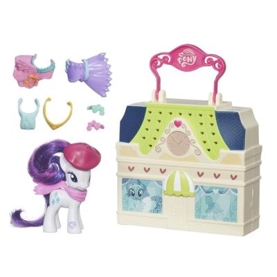 My Little Pony Spielhäuschen-Set Rarity